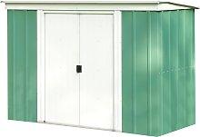 Arrow Metal Garden Shed - 8 x 4ft