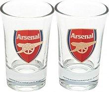Arsenal FC Official Football Gift Shot Glass Set