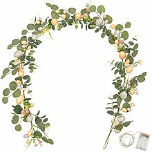 Art Beauty Easter Decoration with LED Lights and