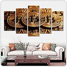 Art Canvas Poster Print Wall For Living Room 5