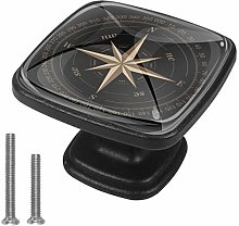 Art Compass Drawer Pulls Handle Cupboard Cabinet