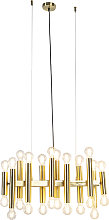 Art Deco Pendant Lamp 24 Gold - Facil