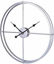 - Art Deco Wall Clock,Large Metal Round