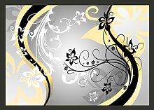 Art-Flowers in Yellow 2.10m x 300cm Wallpaper East