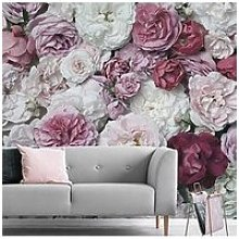 Art For The Home Bouquet Blush Wall Mural
