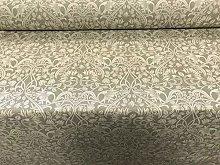 Art Nouveau Morris Linen Mouse Grey Curtain Fabric