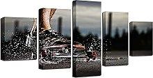 Art print HD Canvas Print Art Wall Painting Skate