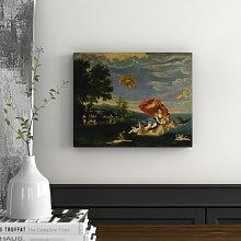 Art Print on Canvas by Francesco Albani East Urban