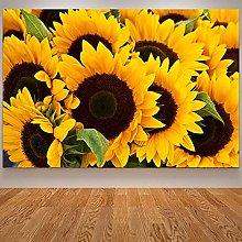 Art print Sunflower Landscape Canvas Painting