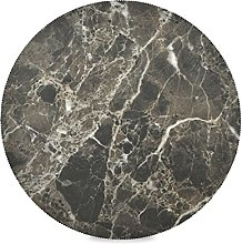 Art Vintage Marble Stone Round Dining Placemats