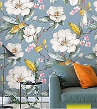 Art Wallpaper 3D Garden Flower Mural Bedroom