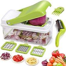 Artbest Vegetable Chopper Slicer Dicer Cutter,