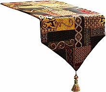 Artbisons Table Runner Gold Illusion 72x13 Thickly