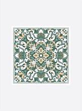 ARTEBENE - Tile Motif Napkins Gold Sage
