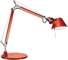 artemide - Anodised Red TOLOMEO MICRO TABLE Light