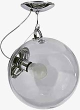 Artemide Lamp 23 W, Chrome/Transparen