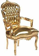 arterameeferro Baroque Armchair Luis Gold Color