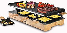 Artestia Raclette Table Grill,Electric Indoor