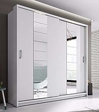Arthauss Modern Bedroom Mirror 2 Sliding Door