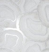 Arthouse Agate Soft White Wallpaper