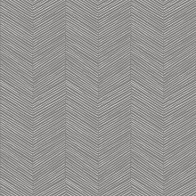 Arthouse Arrow Weave Charcoal Black Wallpaper