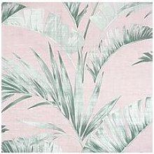 Arthouse Arthouse Banana Palm Pink/Green Wallpaper