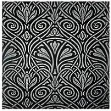 Arthouse Arthouse Decadent Damask Black/Silver