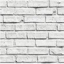 Arthouse Arthouse Wipe Clean White Brick Wallpaper
