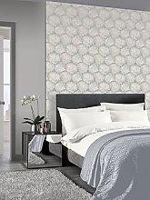 Arthouse Beech Leaf Wallpaper &Ndash; Dove Grey