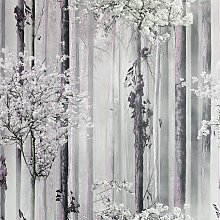 Arthouse Blossom Forest Pink Wallpaper