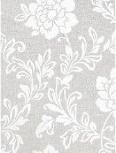 Arthouse Calico Floral Grey Wallpaper