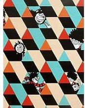Arthouse Colour Block Wallpaper
