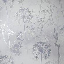 Arthouse Damselfly Silver Wallpaper