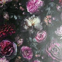 Arthouse Dark Magic Multicolor Wallpaper
