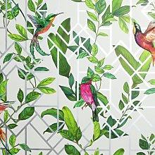 Arthouse Deco Tropical White Wallpaper