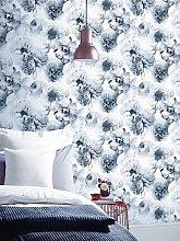 Arthouse Diamond Bloom Floral Mono Wallpaper