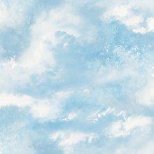 Arthouse Diamond Galaxy Blue Wallpaper