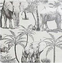 Arthouse Elephant Grove Peel & Stick Wallpaper