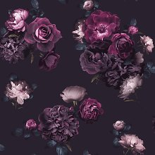 Arthouse Euphoria Plum Purple Wallpaper