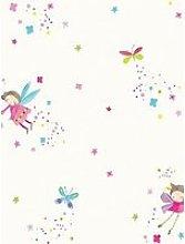 Arthouse Fairy Dust White Wallpaper