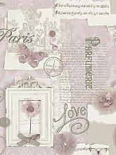 Arthouse Felicity Soft Pink Wallpaper