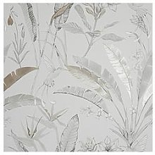 Arthouse Floral Jungle Metallic Wallpaper