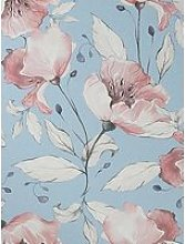 Arthouse Flowing Floral Pink Wallpaper