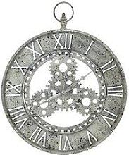 Arthouse Gear Skeleton Clock