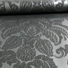 Arthouse Glisten Damask Pattern Floral Metallic