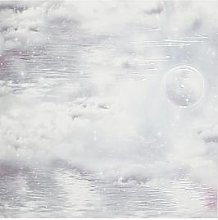 Arthouse Glitter Watery Skies Wallpaper