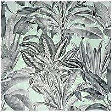 Arthouse Greenhouse Plants Mint Wallpaper