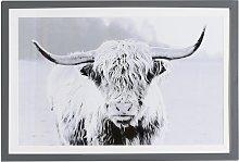 Arthouse Highlands Cow Framed Print Wall Art