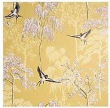 Arthouse Japanese Garden Vinyl Wallpaper