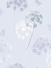 Arthouse Kitty Motif Wallpaper - Grey